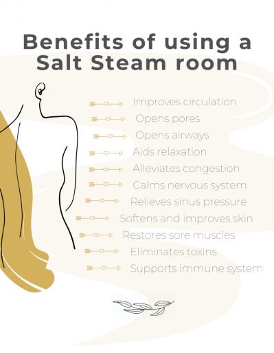 Salt Steam Room Benefits